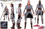 Rey (Jedi Training) (Crait) - Hasbro - The Black Series [Phase III] (2017)