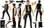 Han Solo (#08) - Hasbro - The Black Series [Phase I] (2013)