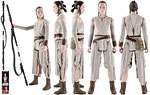 Rey (Jakku) - Hasbro - The Force Awakens (2016)