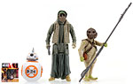 BB-8 and Unkar�s Thug and Jakku Scavenger - Hasbro - The Force Awakens (2015)