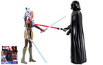 Darth Vader and Ahsoka Tano - Hasbro - The Force Awakens (2015)