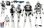 First Order Stormtrooper Squad Leader - Hasbro - The Force Awakens (2016)