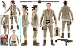 Rey (Resistance Outfit) - Hasbro - The Force Awakens (2016)