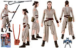 Rey (Starkiller Base) - Hasbro - The Force Awakens (2015)