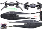 Kylo Ren�s TIE Silencer [with Kylo Ren] - Hasbro - Star Wars [The Last Jedi] (2017)