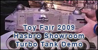 Hasbro Turbo Tank Video Demo