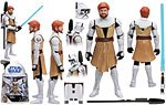 Obi-Wan Kenobi (No. 2) - Hasbro - The Clone Wars [blue] (2008)