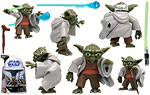 Yoda (No. 3) - Hasbro - The Clone Wars [blue] (2008)