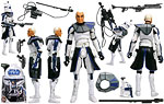 Captain Rex (No. 4) - Hasbro - The Clone Wars [blue] (2008)