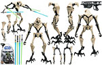 General Grievous (No. 6) - Hasbro - The Clone Wars [blue] (2008)