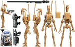 Battle Droid (No. 7) - Hasbro - The Clone Wars [blue] (2008)