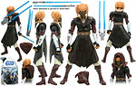 Plo Koon (No. 14) - Hasbro - The Clone Wars [blue] (2008)