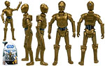 C-3PO (No. 16) - Hasbro - The Clone Wars [blue] (2008)