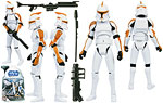 Clone Trooper (212th Attack Battalion) (No. 19) - Hasbro - The Clone Wars [blue] (2009)