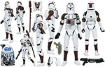 Clone Trooper (with Space Gear) (No. 21) - Hasbro - The Clone Wars [blue] (2009)