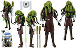 Kit Fisto (No. 27) - Hasbro - The Clone Wars [blue] (2009)