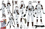 Clone Trooper (with Space Gear) (CW02) - Hasbro - The Clone Wars [red] (2009)