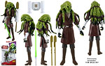 Kit Fisto (CW05) - Hasbro - The Clone Wars [red] (2009)