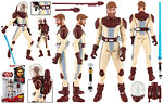 Obi-Wan Kenobi (CW12) [Space Suit] - Hasbro - The Clone Wars [red] (2009)