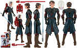 Anakin Skywalker (CW21) [Space Suit] - Hasbro - The Clone Wars [red] (2009)