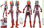 Ahsoka Tano (CW23) [Space Suit] - Hasbro - The Clone Wars [red] (2009)