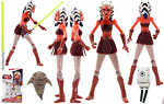 Ahsoka Tano (CW26) - Hasbro - The Clone Wars [red] (2009)