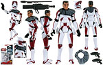 Clone Commander Thire (CW32) - Hasbro - The Clone Wars [red] (2009)