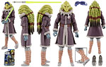 Kit Fisto (CW60) [Cold Weather Gear] - Hasbro - The Clone Wars [Shadow of the Dark Side] (2011)