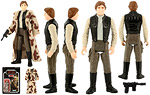 Han Solo (In Trench Coat) - Kenner - Vintage Return of the Jedi (1984)
