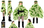 Princess Leia Organa (in Combat Poncho) - Kenner - Vintage Return of the Jedi (1984)