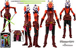 Ahsoka [The Clone Wars Realistic Style] (VC102) - Hasbro - The Vintage Collection (2012)