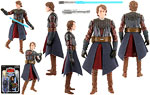 Anakin Skywalker [The Clone Wars Realistic Style] (VC92) - Hasbro - The Vintage Collection (2012)
